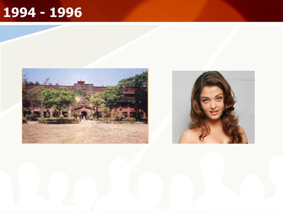 1994 - 1996