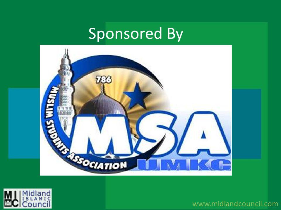 Sponsored By www.midlandcouncil.com