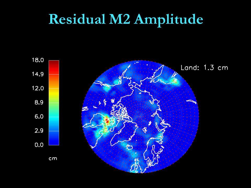 Residual M2 Amplitude