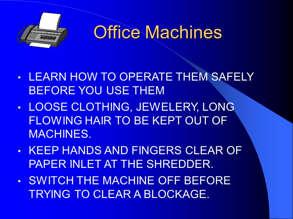 Filing Cabinets CLOSE THE DRAWERS! DONT OPEN ALL THE DRAWERS AT THE SAME TIME USE THE HANDLE TO CLOSE THE DRAWER