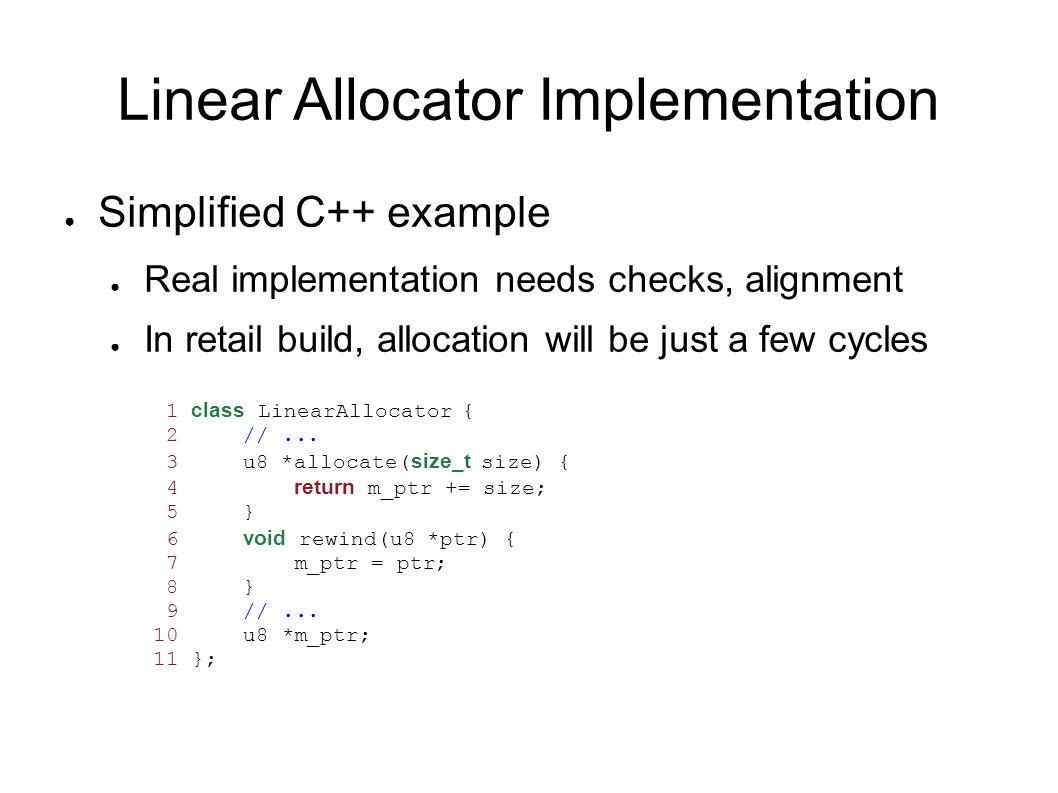Scope Stack Diagram Linear Allocator Scope Active Scope