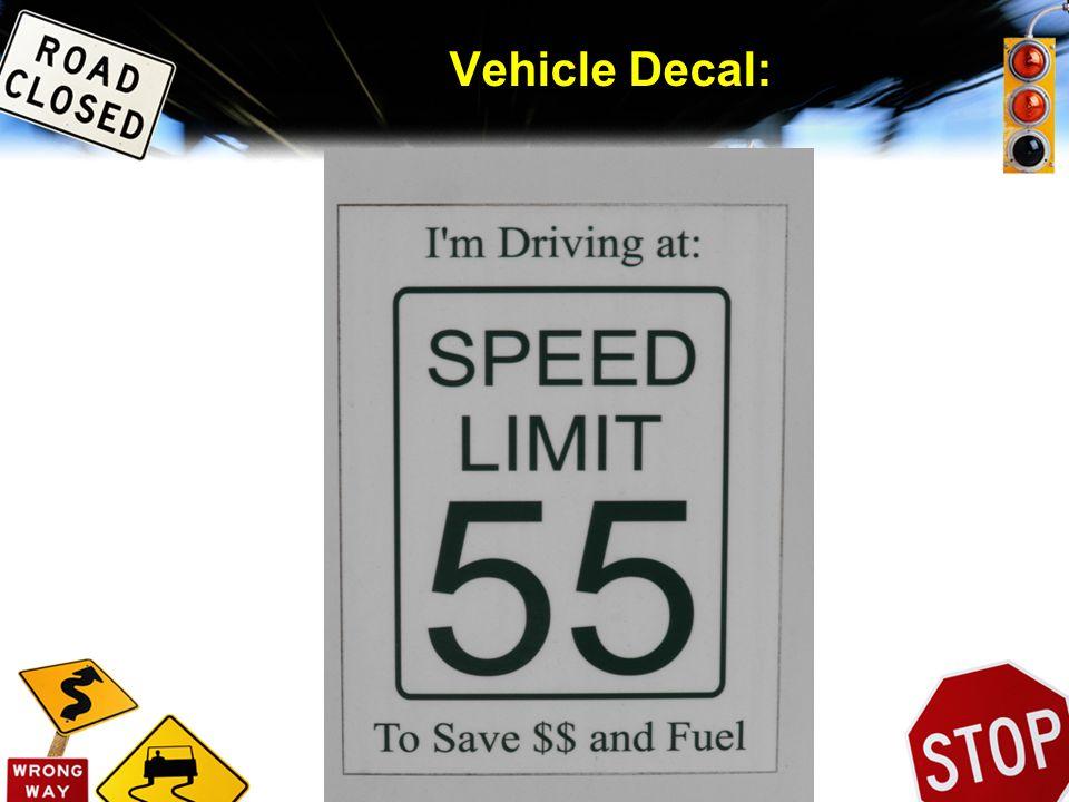 Vehicle Decal: