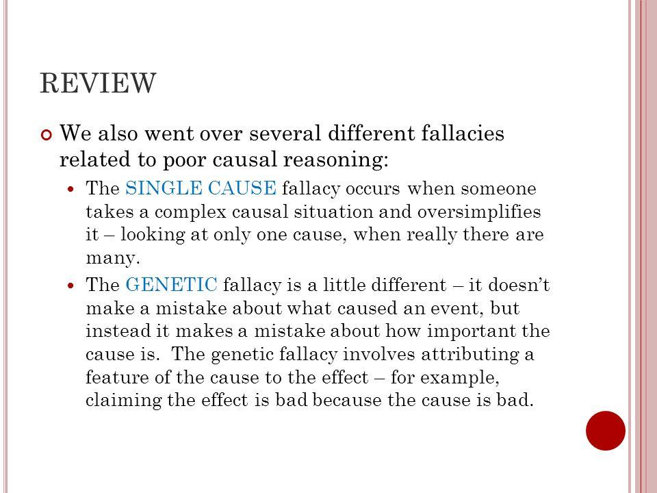 SCIENCE Today we begin talking about scientific reasoning.
