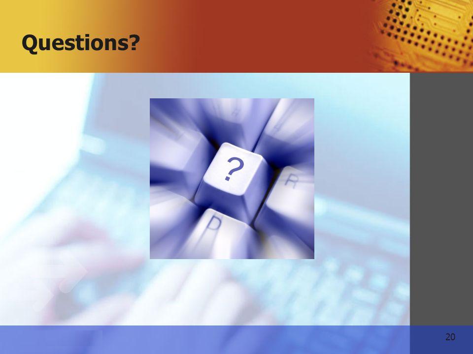 20 www.themeart.com Questions