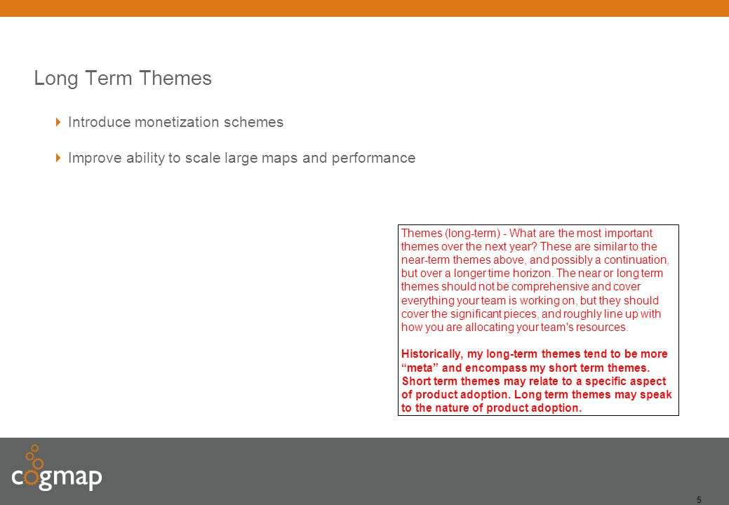 4 Q1 Themes Refresh UI for 2013 – UI has not been improved in several years Bug fixes – Code has not been edited in two years, backlog of bugs is sign