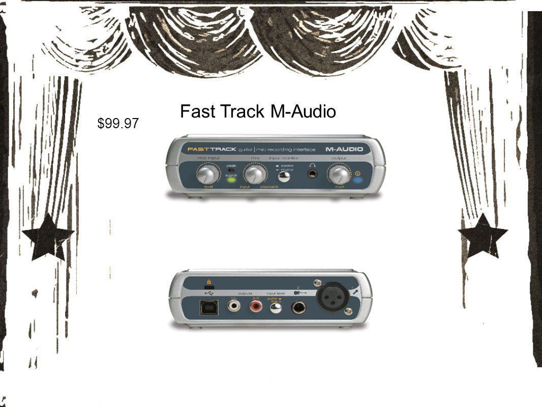 Fast Track M-Audio $99.97
