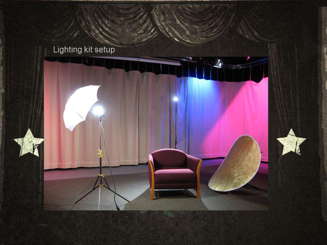 Lighting kit setup