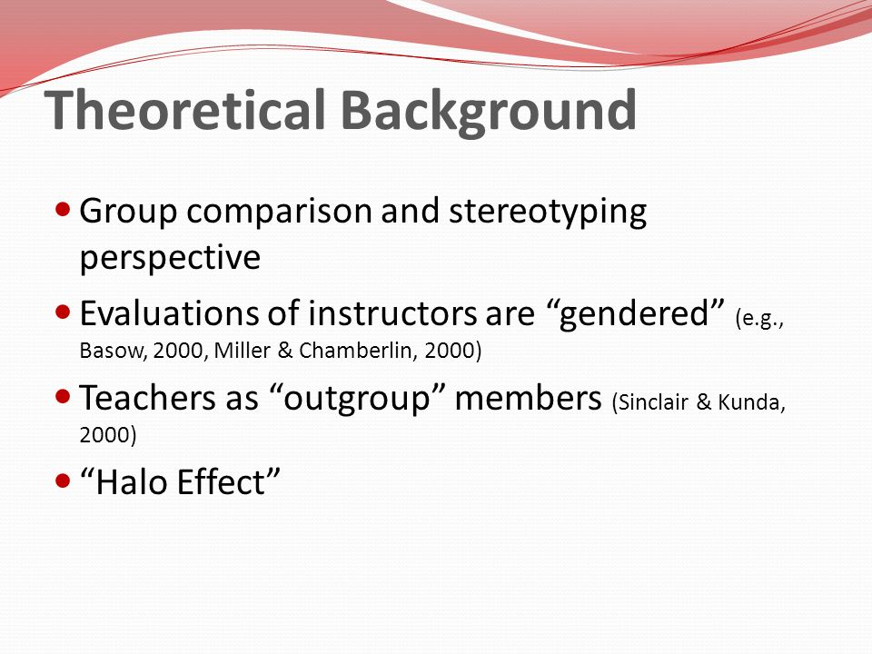 Individuals motivated to stereotype outgroup members to increase positive perceptions of the self (Sinclair & Kunda, 2000; Tajfel & Turner, 1986).