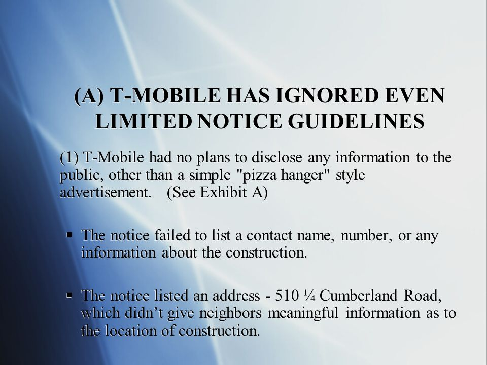 SO WHY ARE THEY DOING IT ??.WITHOUT DEMAND. WHY IS T-MOBILE SO COMMITTED TO THIS ACTION.