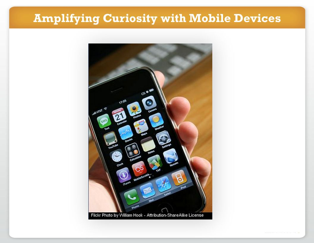 Amplifying Curiosity with Mobile Devices
