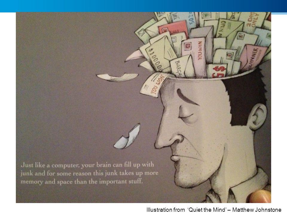 Illustration from Quiet the Mind – Matthew Johnstone