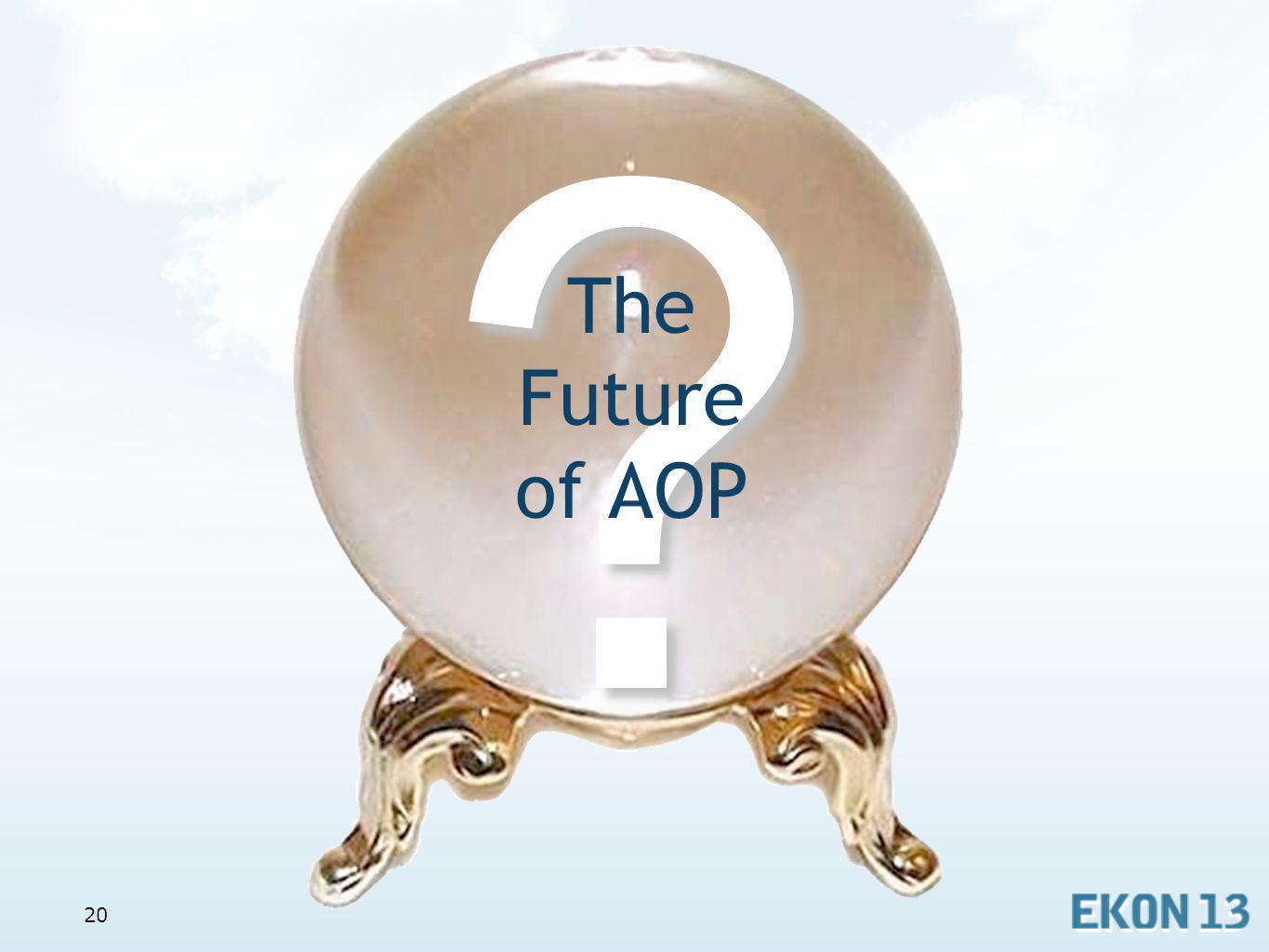 20? The Future of AOP