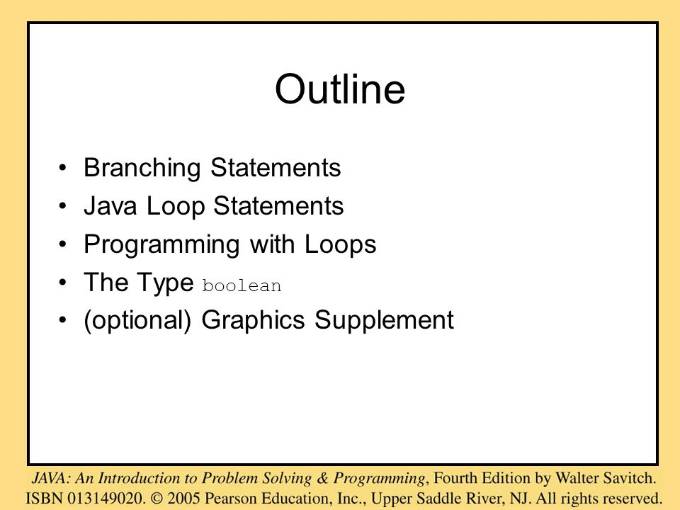 Programming Example, cont.