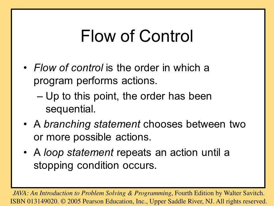 Java Loop Statements, cont.