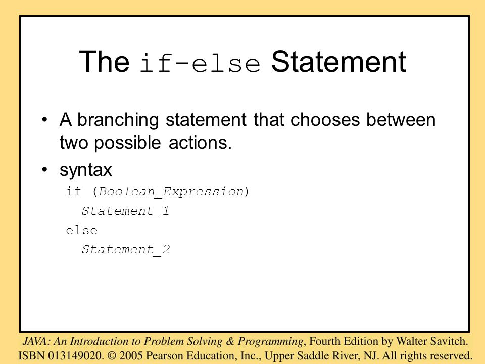 The switch Statement, cont.A list of cases follows, enclosed in braces.