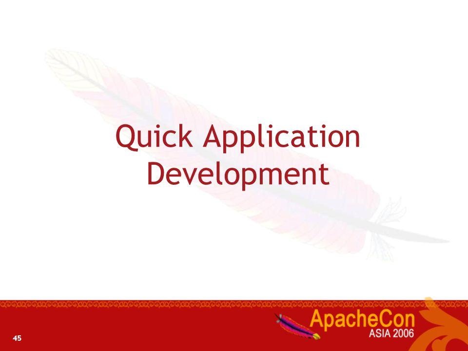 44 Development Environment views