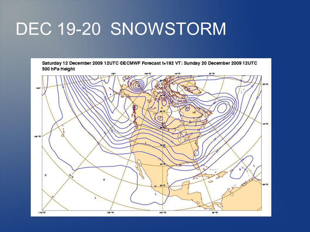 WHY ARE MAJOR WEATHER EVENTS MISSED IN THE DAY 3 - 10.