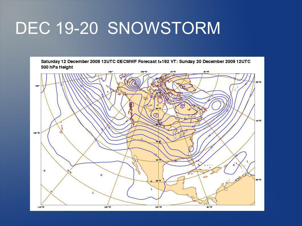 DEC 19-20 SNOWSTORM
