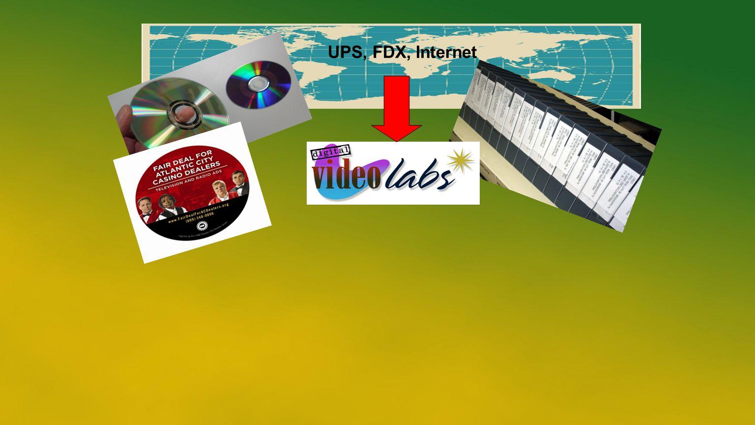 UPS, FDX, Internet