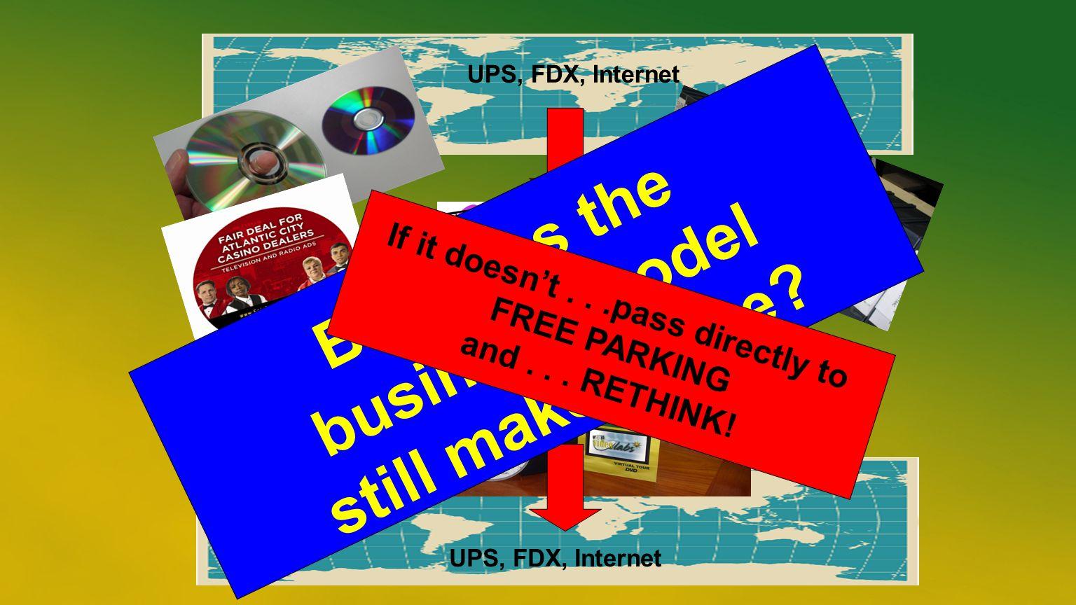 UPS, FDX, Internet But does the business model still make sense.