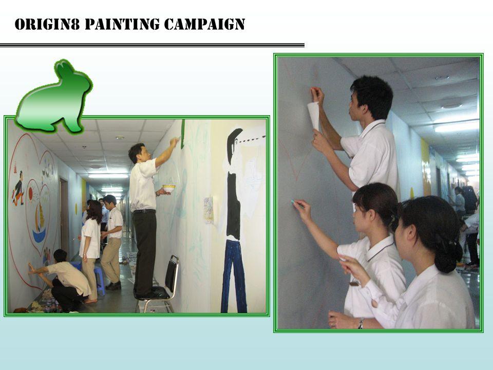 Origin8 painting campaign