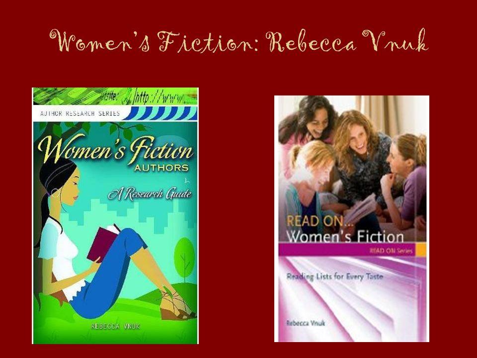 Womens Fiction: Rebecca Vnuk