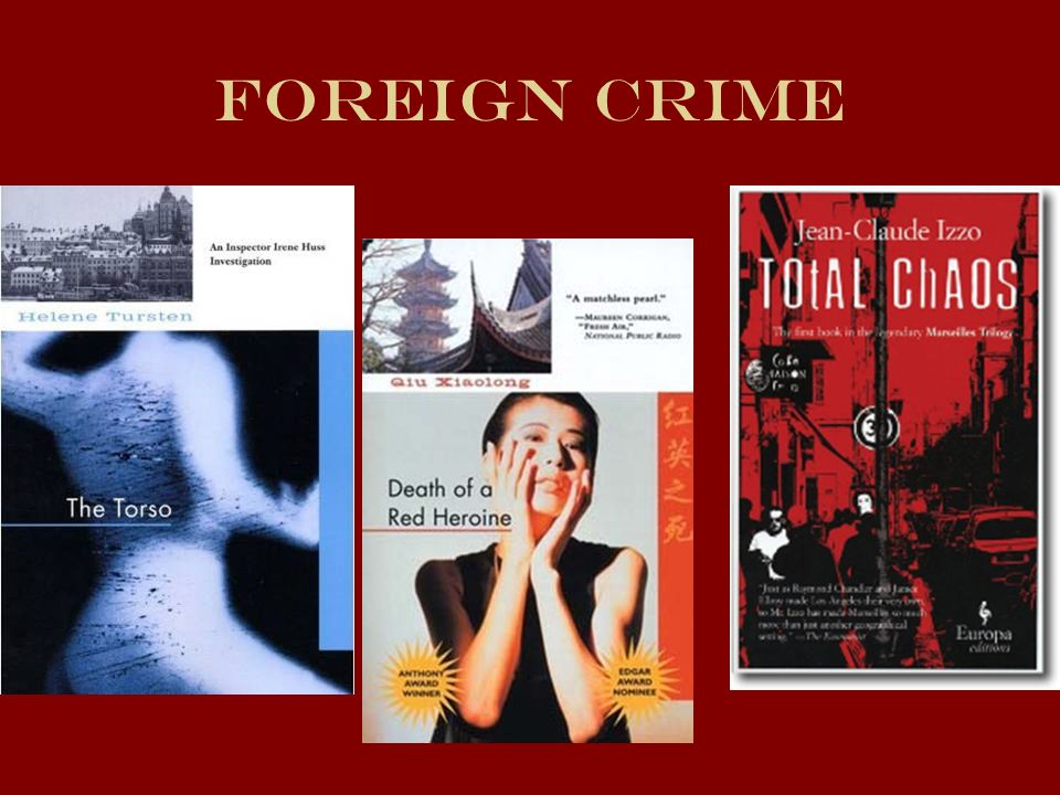 Foreign Crime