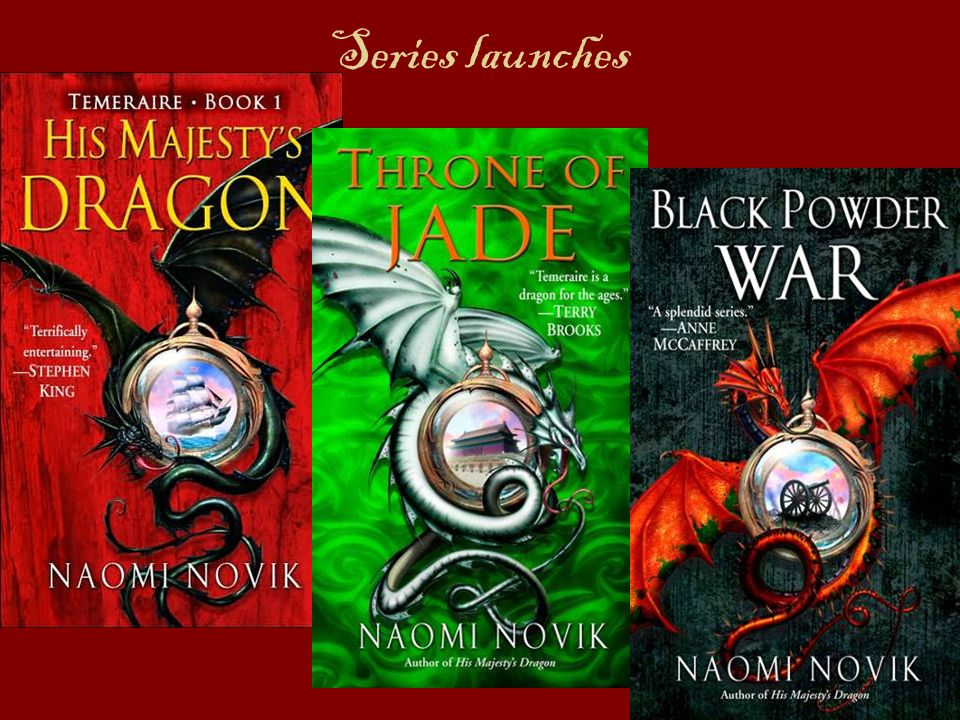 Series launches