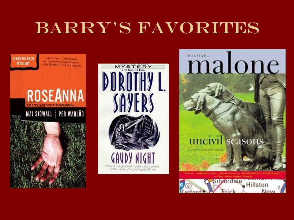 Barrys Favorites