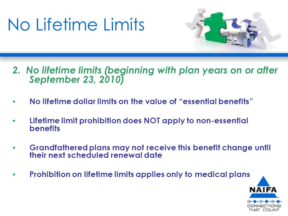 No Lifetime Limits 2.