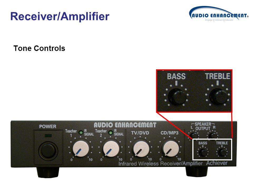 Tone Controls Receiver/Amplifier