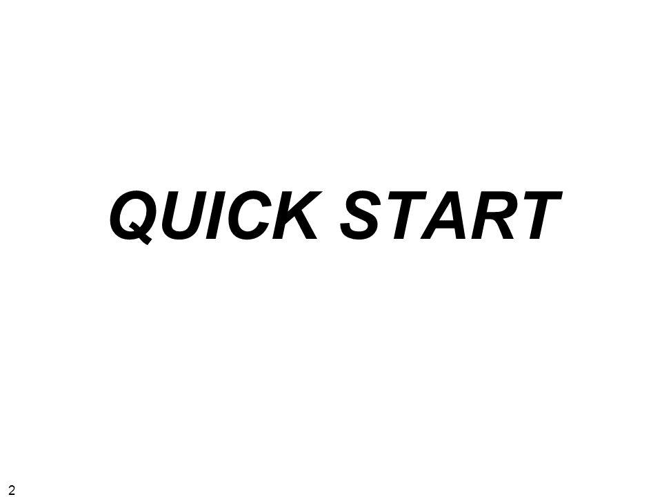 2 QUICK START