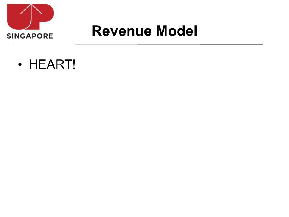 HEART! Revenue Model