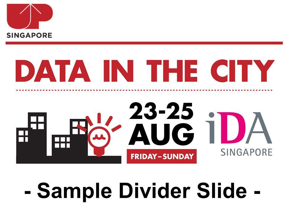 - Sample Divider Slide -