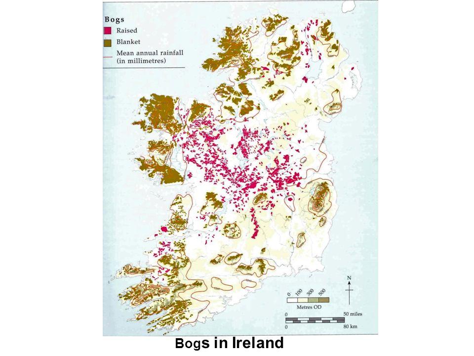 Bog s in Ireland