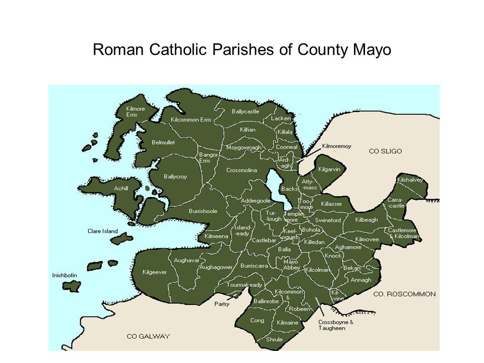 Roman Catholic Parishes of County Mayo