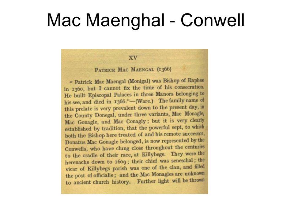 Mac Maenghal - Conwell