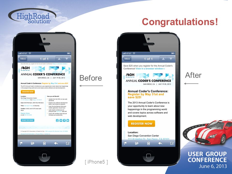 Congratulations! Before After [ iPhone5 ]