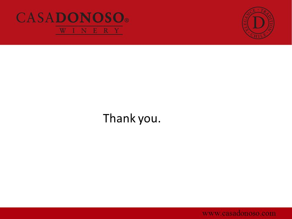 Thank you. www.casadonoso.com