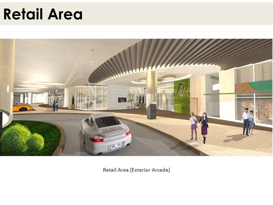 Retail Area Retail Area (Exterior Arcade)