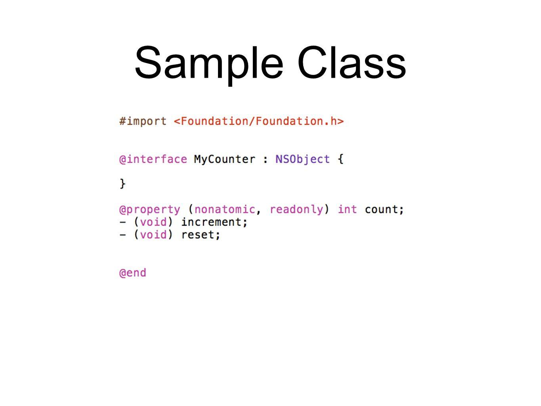 Sample Class