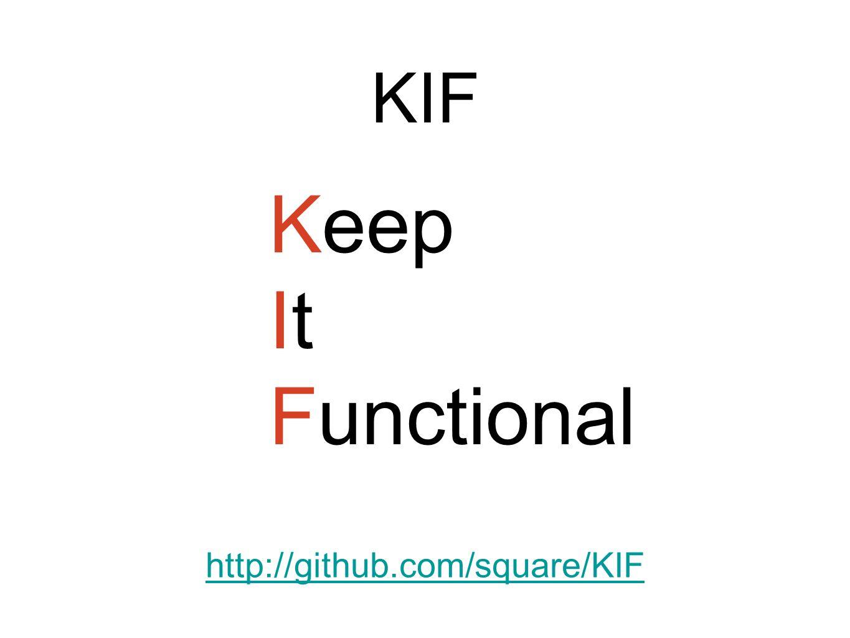 KIF http://github.com/square/KIF Keep It Functional