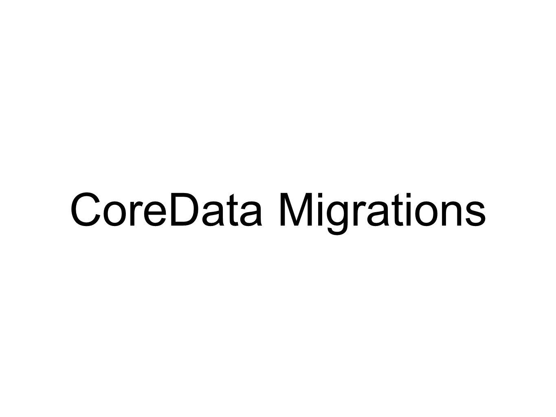 CoreData Migrations