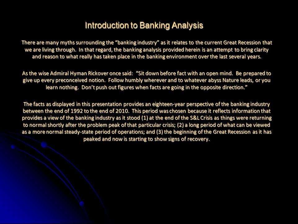 For Questions Contact Jim Boswell Email: Quanta.Analytics@gmx.com Thought We Were DoneDidnt You Here Is Some More Detail Since it is clear that Bank Real Estate loans were at the dead center of our most recent banking crisis, Quanta Analytics thought you might be interested in a little more detail on those Real Estate Loans.