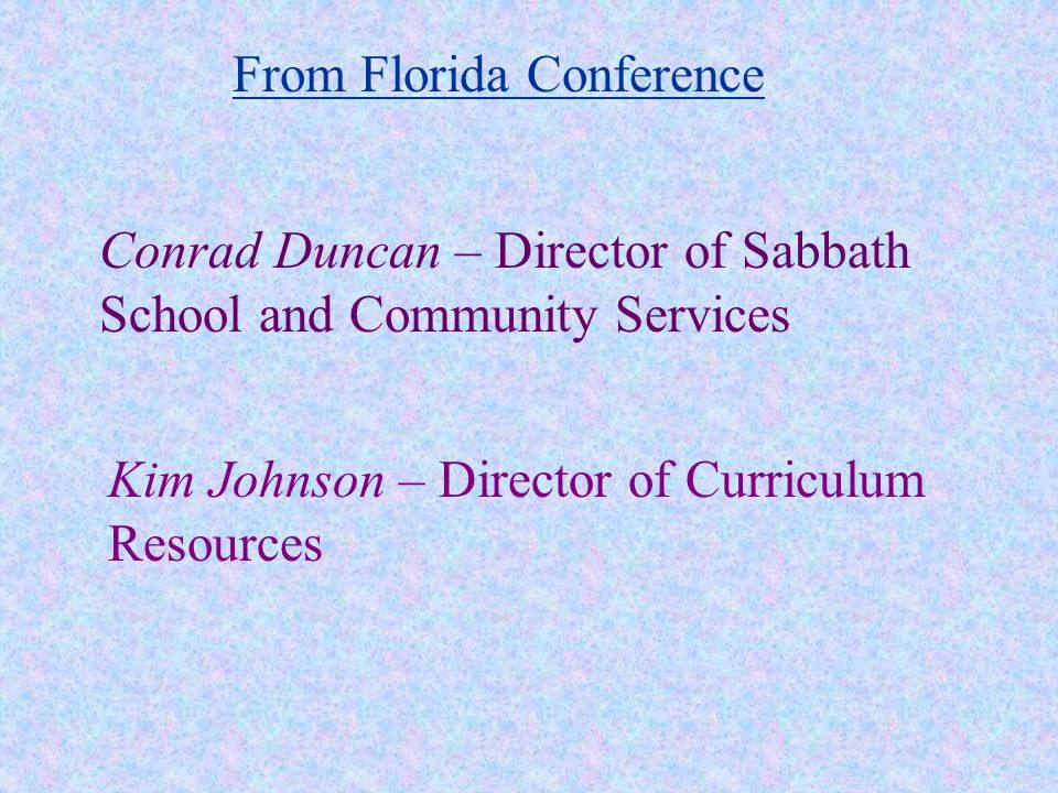 http://www.floridaconference.com/sabbathschool/ Click on A Discipleship Model for Adult Sabbath School To view or download todays PowerPoint go to: