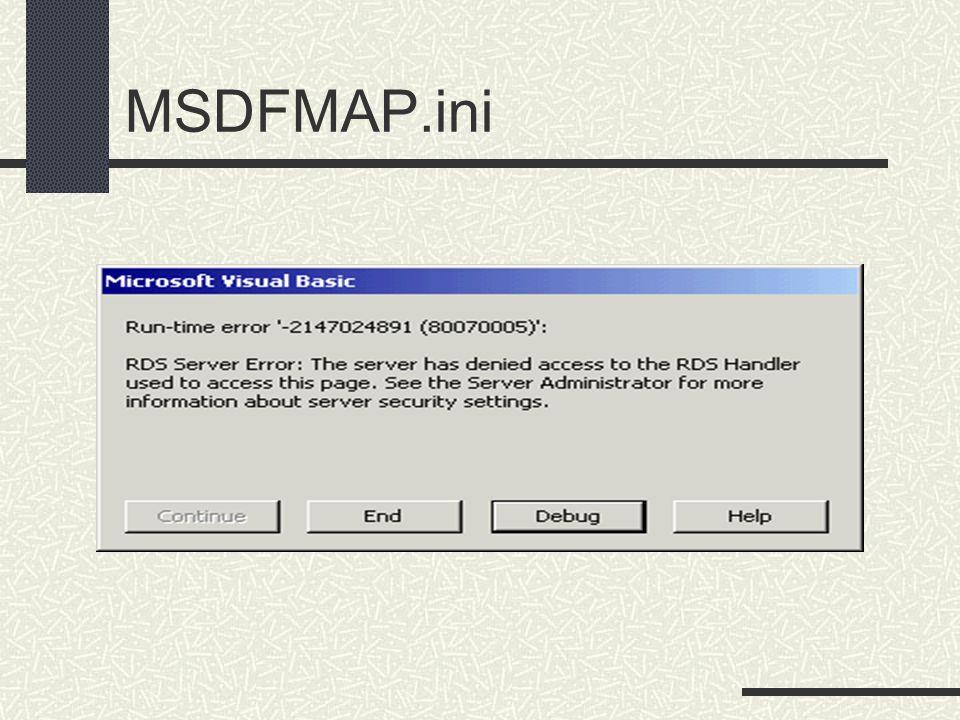 MSDFMAP.ini