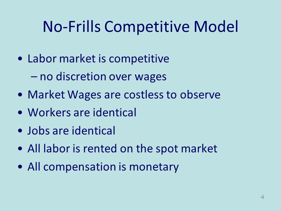 Tradeoffs with Career Earnings Advantages –Efficiency wages reduce turnover and shirking –Since pay rises faster than MRP L employees have strong incentives to make the firm look good –Promotions become a reward for good behavior Disadvantages –Promotions may be manipulated because of destructive behavior toward other rivals –Promotions are a crude incentive tool since they are infrequent –The Peter Principle: People rise to level of incompetence –Much time may be spent lobbying managers for promotions 15