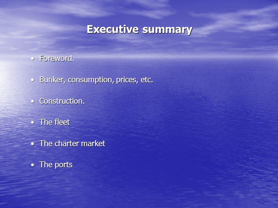Executive summary Foreword.Foreword.