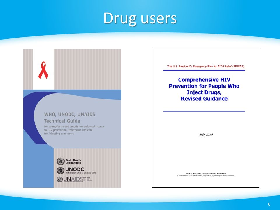 Drug users 6
