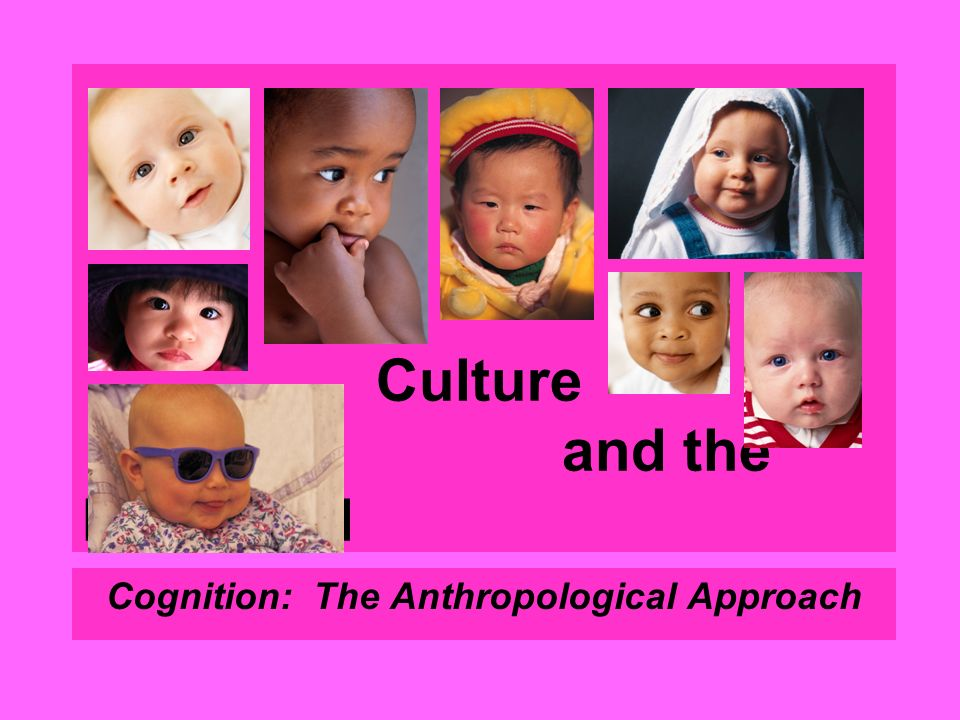 Culture and the Individual Cognition: The Anthropological Approach